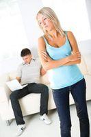 Tegn på at kjæresten din ikke er interessert i deg