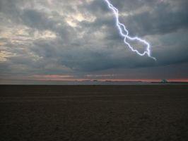 Hvordan finne avstanden til en Storm