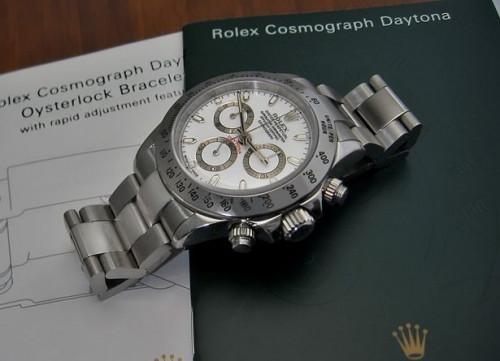 Rolex Cosmograph Daytona Instruksjoner