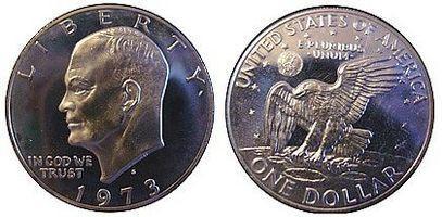 Hvordan samle Eisenhower Dollar Mynter