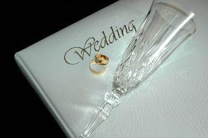 Hva Elementer trenger jeg for mitt bryllup?