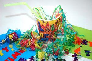 Candyland tema partiet ideer