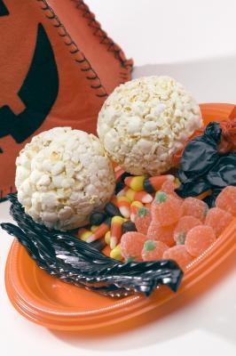 Desserter og mat for Halloween parter