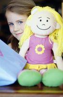 Hvordan Sculpt Soft Doll Faces
