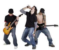 """Hvordan få en universell gitar å arbeide på """"PS3 Rock Band"""""""