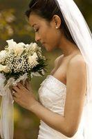 Stiler av brude slør
