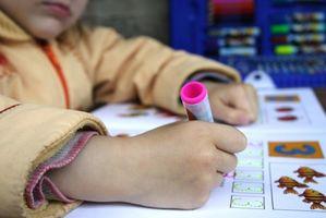 Pedagogiske leker for å hjelpe barn med lærevansker