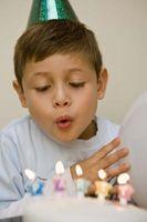 Aktiviteter for en syv år gamle bursdag Med Keepsakes