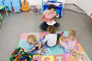 Aktiviteter for å støtte sosial utvikling av småbarn i barnevernet