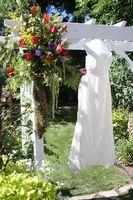 Dekorasjon ideer for en utendørs tema bryllup