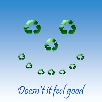 Making resirkulert poser ut av plastposer