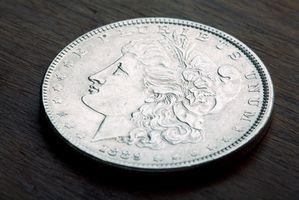 Hvordan forteller du Mint av en Morgan Silver Dollar?