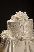 Creative vestlige Wedding Cake Ideer