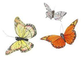 Sommerfugl tema brude dusj dekorasjoner