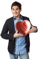 Valentinsdag Candy Gaver til gutter