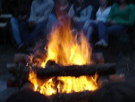 Ideer for en campingplass Birthday Party