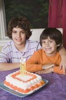 Theme Ideer for en ti år gammel gutt fødselsdag