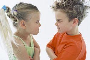 Aktiviteter for opposisjonell barn