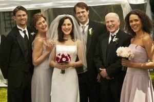 Skulder-lengde frisyrer for Bridesmaids