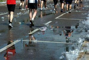 Gaver til Marine Corp Marathon Runners