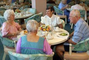 Fordelene av eldre som bor i gamle folk Homes