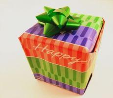 Creative bursdag gaver til venner