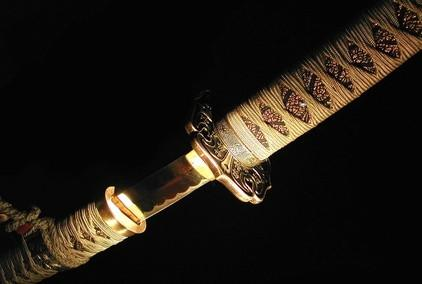 Hvordan Pakk Hilt av en Samurai Sword