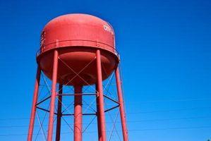 Problemer med katodisk beskyttelse av vanntårn
