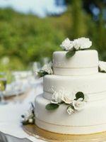 Hvordan beregne Layer størrelse for en Wedding Cake