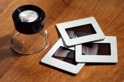 Hvordan overføre 35 mm lysbilder til en DVD