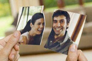 Sammenligning av de stadier av sorg til breakup av et forhold