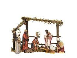 Hvordan sette opp en Inside Nativity Set