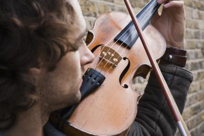 Hva tresorter bruker vi på fiolin Buer?