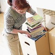 Beste måten å pakke bøker for bagasje