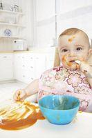 Slik hindrer barnet ditt fra Blowing Bringebær mens du spiser