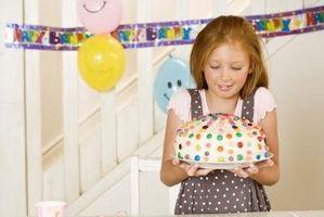 Temaer for Girls 'bursdagskaker