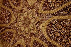 Hvordan identifisere Antikke orientalske tepper