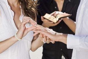 Christian spill for en bryllupsfeiring