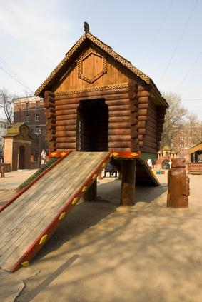 Hvordan bygge en Basic Play Fort Med Wood