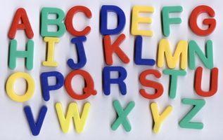 Spill som hjelper barna lære alfabetet