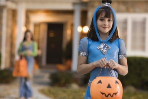 Halloween Sikkerhetsaktivitetsblad