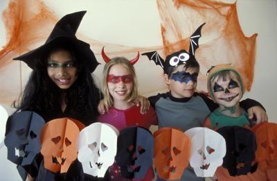 Slik Dekorer Cute Halloween Party Vesker