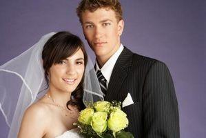 Hvordan lage en Bridal Veil Pattern