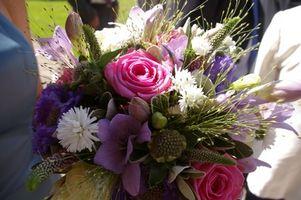Online Instruksjoner for Making brudebukett