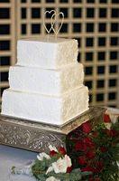 Best Christmas Wedding Cake dekorasjoner