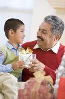 Hjemmelaget julegaver for Grandpa