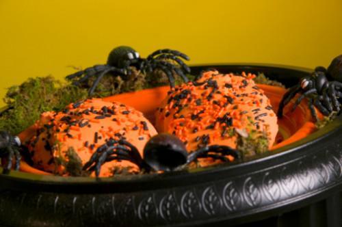 Oransje Halloween Foods for Kids