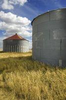 Hvordan beregne arealet av en Grain Bin