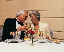 Hvordan lage en romantisk middag Meny