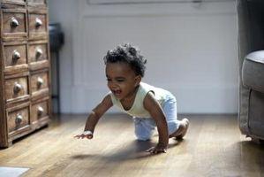 Hvordan motivere baby å gjennomgå